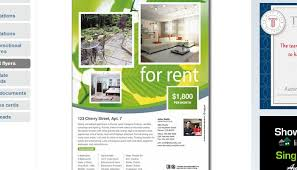 house for rent flyer template 17 free download real estate flyer