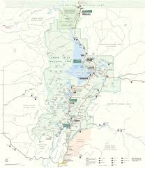 Grand Teton Map Wyoming Whiskey Burned Wagon Gulch