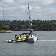 two boats collide near cockatoo island in sydney harbour abc