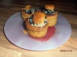 le marmiton recettes de cuisine recette de vol au vent d escargot au riesling recette du livre