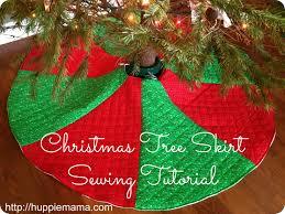 Poinsettia Christmas Tree Skirt Red Christmas Tree Skirts U2013 Happy Holidays