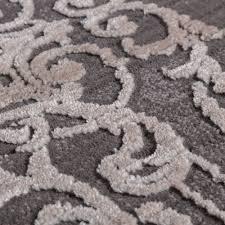 Teppich Schlafzimmer Beige Designer Teppich 3d Barock Grau Design Teppiche