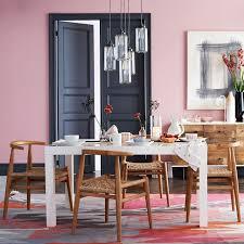 West Elm Carroll Bench Parsons Dining Table Rectangle West Elm Carroll Farm Room