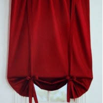 Shabby Chic Balloon Curtains by Red Curtain