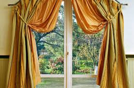 noticeable design of posilenz white and black curtains for living