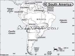 map of and south america black and white south america continent black white outline digital map from