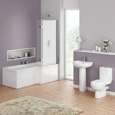 wall layers shower with glass door beige bathroom vanity panelled