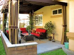 outdoor curtains drapes and shades superior awning and patio