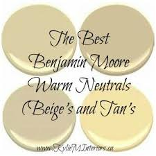 best benjamin moore warm neutral paint colours yellow and orange