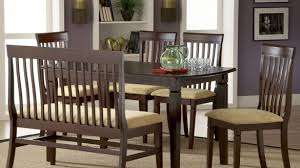 Rustic Dining Room Furniture Sets - classic dining room furniture bench seating decor ideas and table