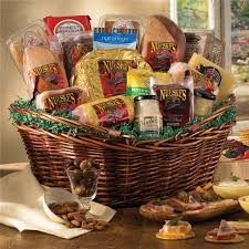 cheese gift baskets meat and cheese gift basket gift basket supreme nueske s