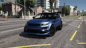 orange range rover range rover evoque add on replace tuning template gta5