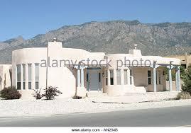 Adobe Style Home Adobe Style House Albuquerque Stock Photos U0026 Adobe Style House