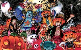 anime halloween backgrounds one piece wallpapers wallpaper cave