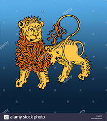 Colors Of The Zodiac by Color Enhancement Of Leo One Of The Constellations Of The Zodiac