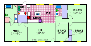 1999 fleetwood mobile home floor plan mobile home floor plan stoneridge by fleetwood floor plans