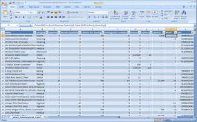 It Inventory Spreadsheet Food Storage Inventory Software System Homestead Help Regarding