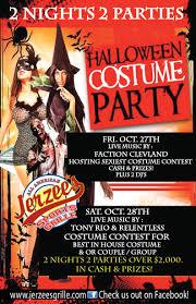 halloween weekend 2 night costume contest jerzee u0027s grille