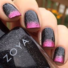 best 25 black nails with glitter ideas on pinterest nail tip