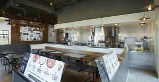 Pizza Restaurant Interior Design Ideas Fast Casual Pizza Chain Pieology Tests Customizable Salads New
