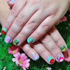 easy summer nails designs 2017 easy summer nail designs for short