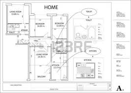 Drawing House Plans Free Architectural Drawing House Plan Royalty Free Cliparts Vectors