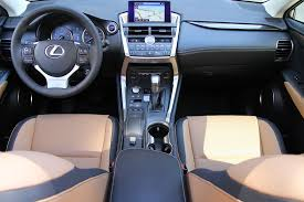 lexus nx interior 2015 lexus nx 300h test drive autonation drive automotive blog