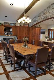 Log Dining Room Table Log Dining Table Rustic Furniture Cabin Dining Table