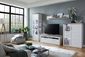 Wohnzimmerschrank H Fner Ideal Möbel Wohnwand Bana 28 Pino Aurelio San Remo Eiche Möbel