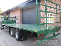 Utility Bed Trailer Used Bailey 12 Ton 27ft Flat Bed Trailer General Purpose Trailers