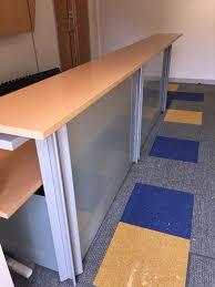Gumtree Reception Desk Reception Desk With Panel In Penicuik Midlothian Gumtree
