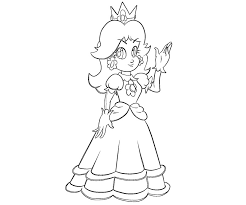 princess daisy coloring pages 38 coloring