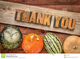 thank you thanksgiving thank you in fall holiday decoration stock photo image 60024551