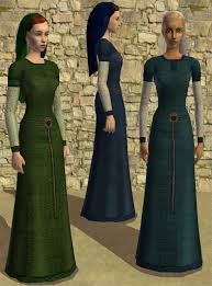 mod the sims norman tunics