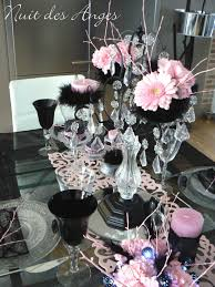deco table rose et gris ordinary deco rose et noir 4 anges décoratrice de mariage