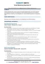Nordstrom Resume Email Marketing Specialist Resume Samples Qwikresume