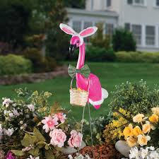 flamingo easter 4 98 the flamingo yard ornament without