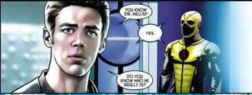 flash teaser references justice league