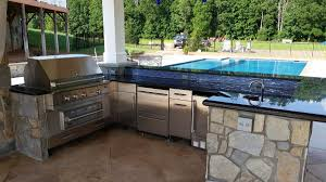 Outdoor Kitchen Ideas Pictures Fireplaces U0026 Outdoor Kitchens Revolutionary Gardens