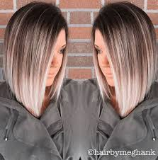 thin hair with ombre 15 gorgeous medium length hairstyles for thin hair 2017 2018