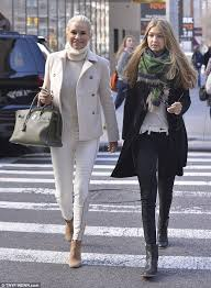 tolanda foster clothes real housewives yolanda foster joins model daughter gigi 17 on