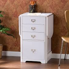 White Desk With File Cabinet by Amazon Com Southern Enterprises Fold Out Organizer And Craft Desk
