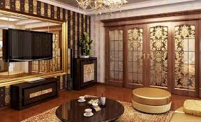 golden colors for modern interior decorating to attract wealth