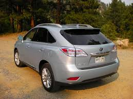 lexus suv hybrid reviews review 2010 lexus rx 450h it u0027s hard not to like once the sticker