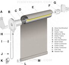 Replacement Brackets For Roller Blinds Roller Shade Diagram When Fixing Your Roller Shade It Can Be
