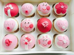 peppa pig cupcakes cupcakes gallery the secret bakery