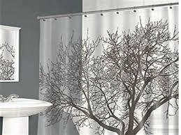 Splash Home Tree Mocha Eva Shower Curtain Curtains