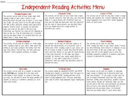 the organized chaos of instruction independent reading response