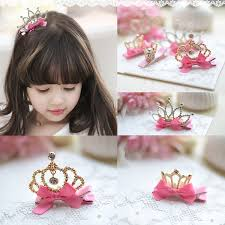 children s hair accessories children s crown hairpin hair princess for birthday fashion hair