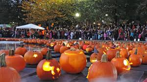 pumpkin float 2017 u2013 the boston common frog pond